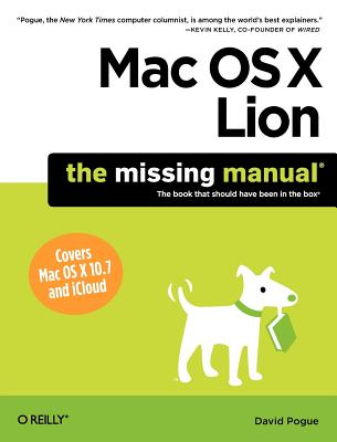 MAC OS X Lion By Pogue, David